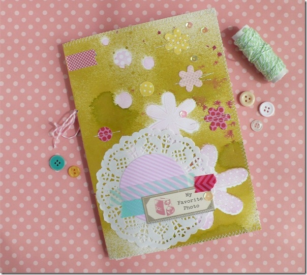 cafe creativo - Anna Drai - big shot sizzix - mini album (1)
