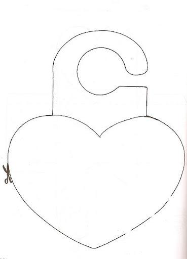 Cartão de Porta_Coração