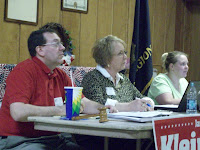 Washington County Attorney Larry Brock, Senator Sandy Greiner and Angela Wasson