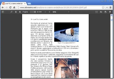 Lettore PDF.js di Firefox su Chrome