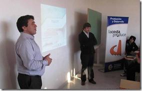 Rector Amado Zogbi durante la presentación del Fonsoft