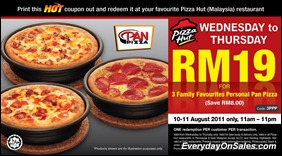 Pizza-Hut-Malaysia-2-Days-Hot-Deals-2011-EverydayOnSales-Warehouse-Sale-Promotion-Deal-Discount