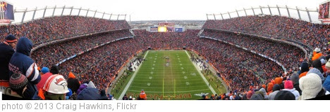 'Broncos vs Ravens 2013 Playoff Game' photo (c) 2013, Craig Hawkins - license: https://creativecommons.org/licenses/by-nd/2.0/