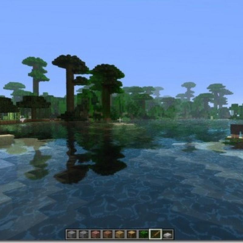 Minecraft 1.3.2 - Water Shader Mod