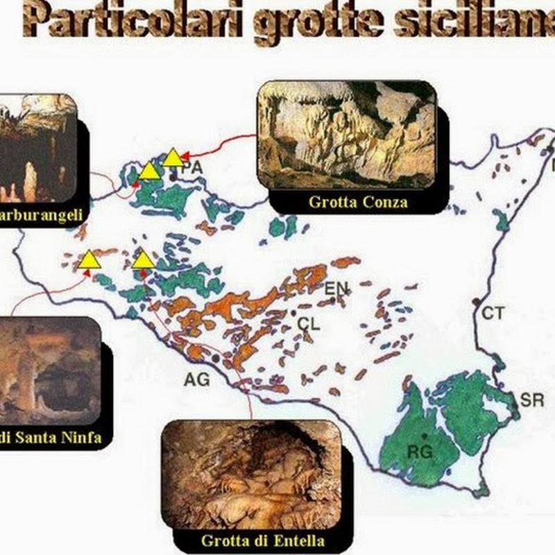 """Riserva Naturale Integrale """"Grotta di Santa Ninfa"""" di elevato interesse speleologico, geomorfologico e naturalistico."""
