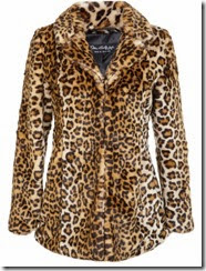 Miss Selfridge Leopard Faux Fur Jacket - On Sale