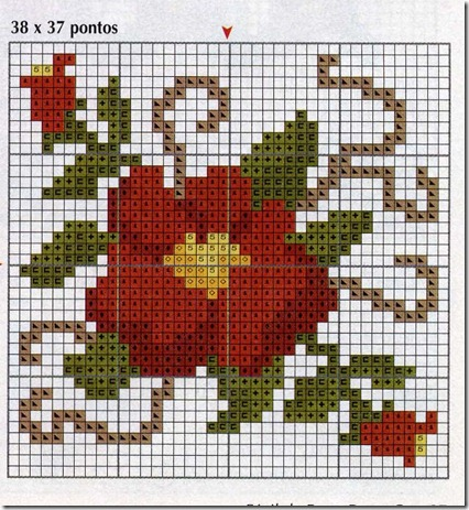 Ponto Cruz-Cross Stitch-Punto Cruz-Punto Croce-Point de Croix-282