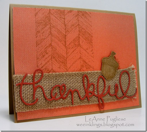 LeAnne Pugliese Truly Grateful Expressions Wee Inklings Stampin Up