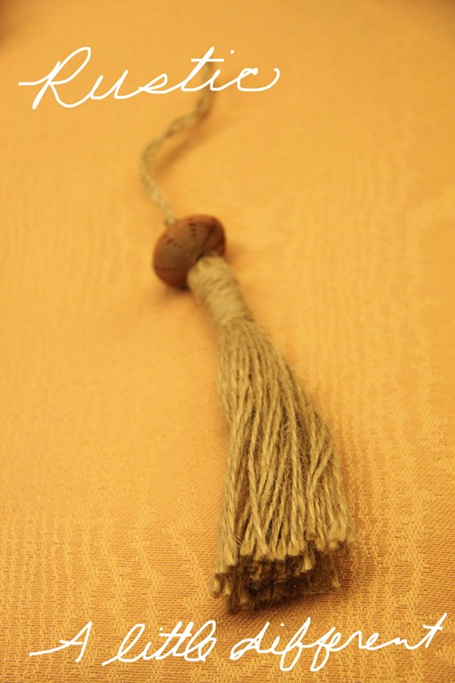 rustic tassel with words copy