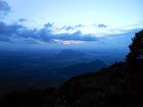 Looking east at dawn from Gunung Kelam (Dan Quinn, June 2013)