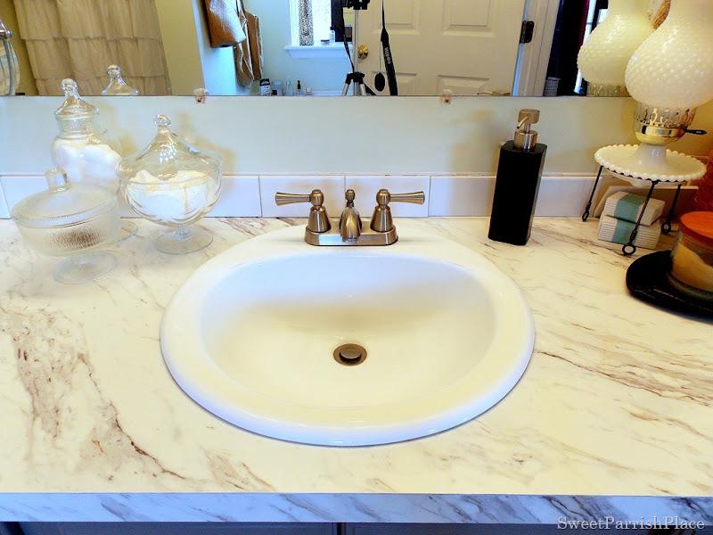 round drop in sink