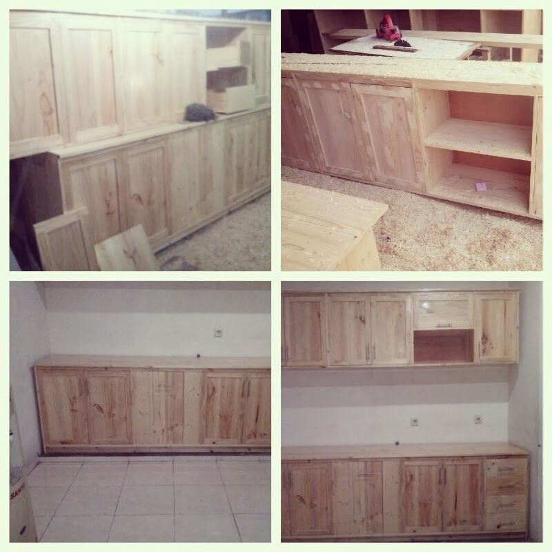 Kitchen Set Kayu Pallet: Weekend Project: Project Sample 2: Kitchen Cabinet