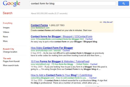 google plus search results
