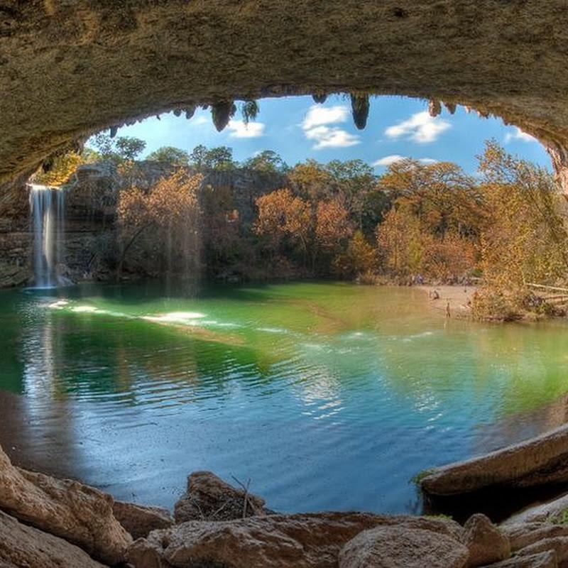 Hamilton Pool Preserve in Texas