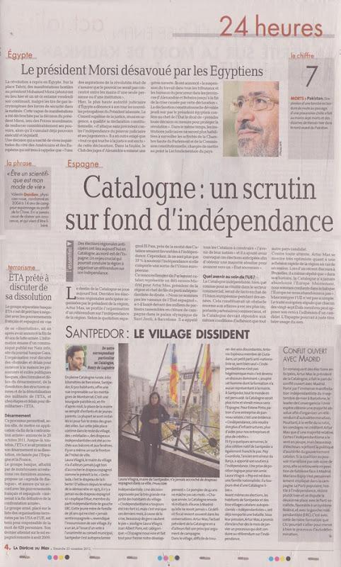 article de la DDLM Catalonha eleccions 2012