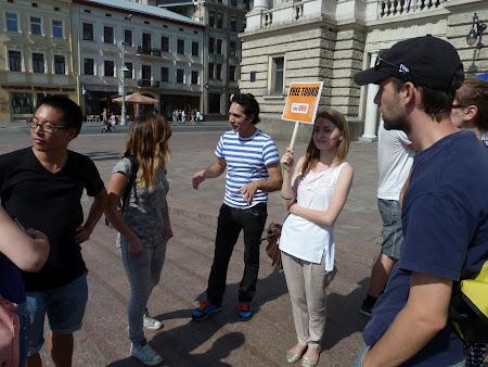 Tur gratis: Grupul de la Lvov