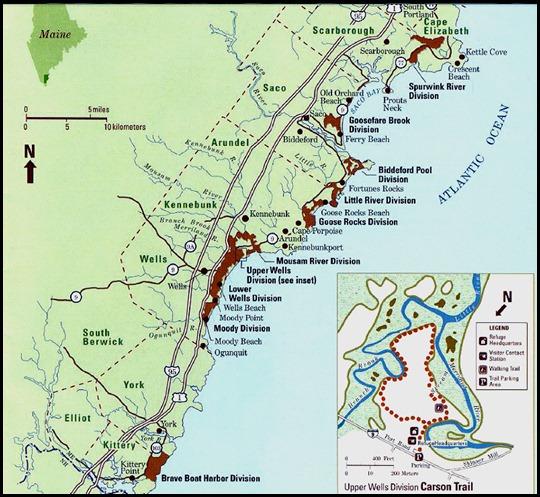 02 - Rachel Carson NWR Map