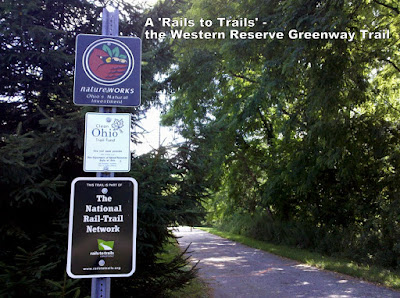 A 'Rails to Trails' - the Western Reserve Greenway Trail