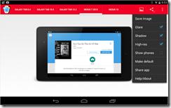 تطبيق فريمات أحدث الهواتف والتابلتس لصورك Perfect Screenshot-4