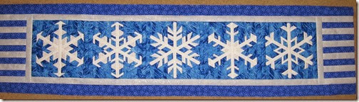 snowflake runner top