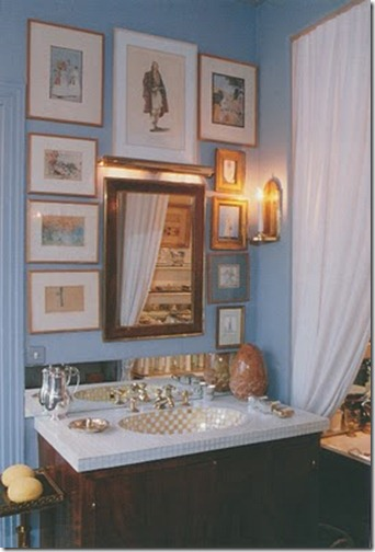 walter lees bathroom via hte peak of chic