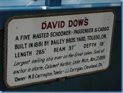5117 Michigan - Sault Sainte Marie, MI - Museum Ship Valley Camp - info on David Dows