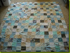 watercolour quilt top blog