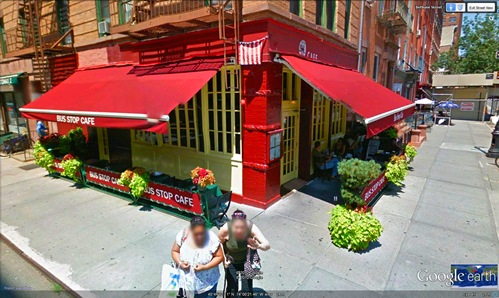 3. Bus stop cafe-google earth
