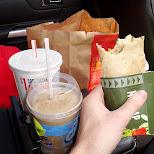 icecap - mcwrap and fries, an amazing breakfast in Vaughan, Ontario, Canada