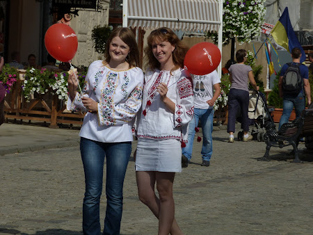 Ukraine girls in Lvov