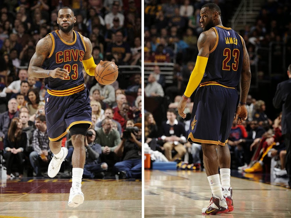 watch 4e774 fce2b LeBron James Brings Back 8220AllStar8221 LeBron III amp Unveils New LeBron  12 PE ...