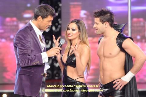 Marcelo presenta a Belén Francese.JPG