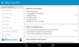 Screenshot of Mobile Travel Kit