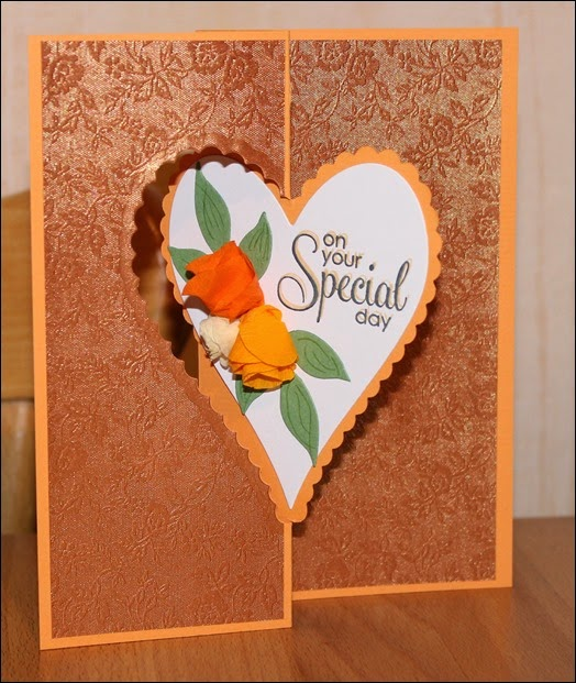 Hochzeit Glückwunschkarte Wedding Card Rose 01