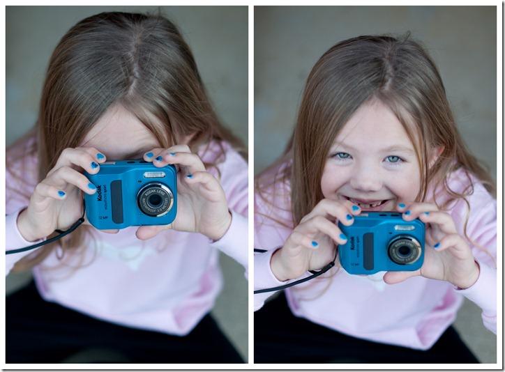 Stella and her camera