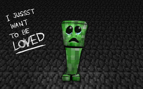 Minecraft Cool Wallpapers Creeper Minecraft-creeper-wallpaper