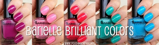 Barielle Brilliant Colors Summer 2013