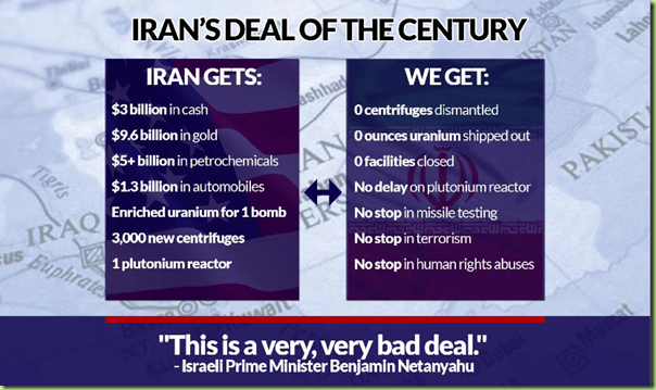 Iran, deal of the century
