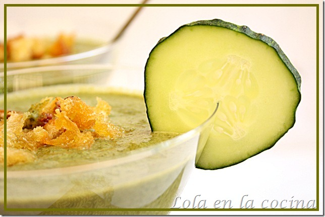 lola en la cocina gazpacho verde share the knownledge