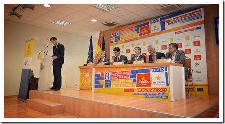 Presidió el evento Miguel Cardenal, presidente del Consejo Superior de Deportes