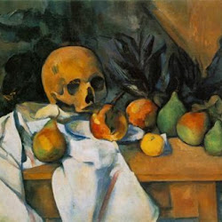 Paul Cezanne (1895-1900): Still Life with Skull. The Barnes Foundation. Merion. Pennsylvania. Postimpresionismo