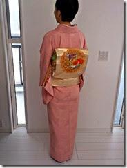 素敵な春色のお着物で卒業式に (2)