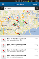 Screenshot of EBSB Mobile Banking