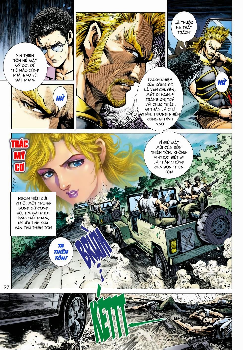 Tân Tác Long Hổ Môn chap 488 - Trang 26