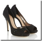 Coast Black Evening Shoes