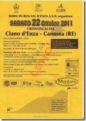 Cronoscalata Ciano D Enza - Canossa Sabato 22 Ottobre_01