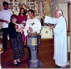 Mikayla Anna Michalek baptism