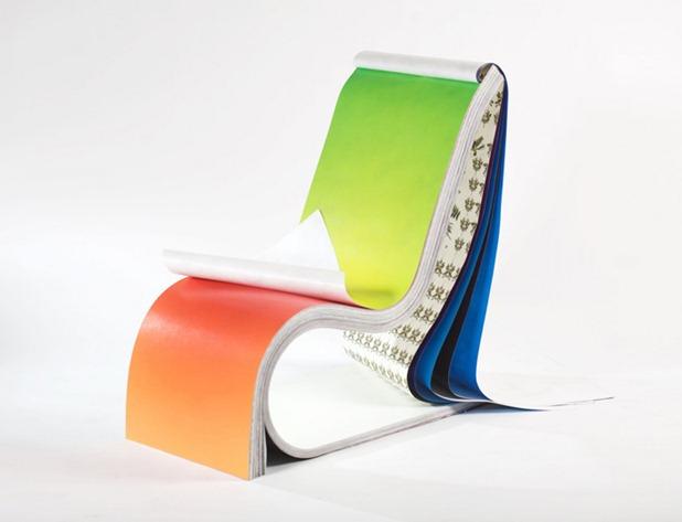 darwin chair by stefan sagmeister