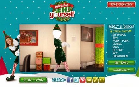 ElfYourself - postales para Navidad