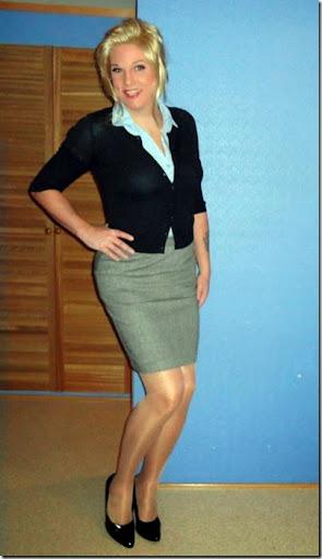 Cross dressing girdle transvestite